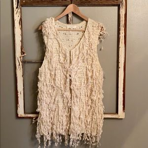 Bite Bohemian style vest in Cream by Umgee